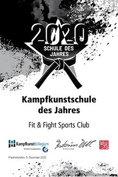Kampfkunstschule des Jahres 2020